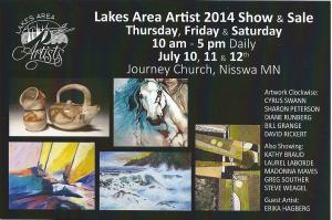 Artist Kathy Braud Is New Member Of The Lakes Area Artists Fine Art Show And Sale