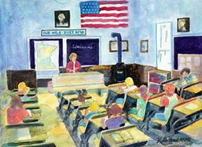 Artist Kathy Brauds Painting Chosen For Schoolhouse Art Exhibit Purchase Award